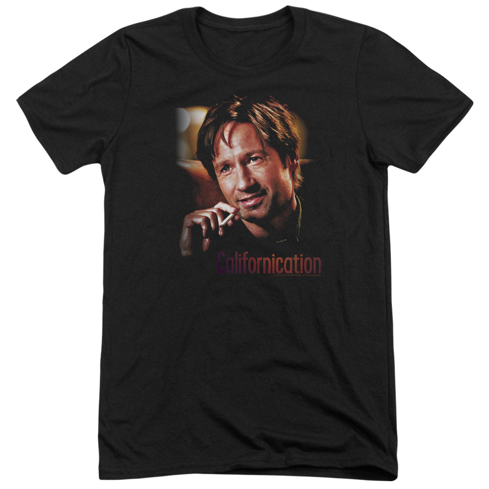 Californication Smoker Mens Tri-Blend Short Sleeve Shirt