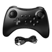 Wireless Controller for Nintendo Wii U Pro Bluetooth Gamepad Game Joystick Black