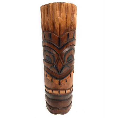 Hand Carved Miniature (Happy Tiki Mask 20