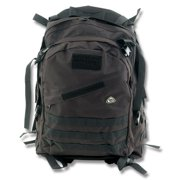 Colt Knives 397 Black Tactical Gear Backpack with Heavy Duty Ballistic Nylon Construction Multi-Colored