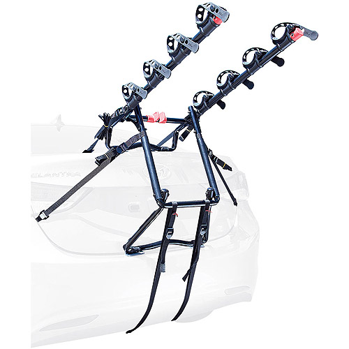 Allen Sports Premier 4-Bicycle Trunk Mounted Bike Rack Carrier, S-104