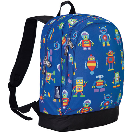 Wildkin Olive Kids Robots Sidekick Backpack by Wildkin