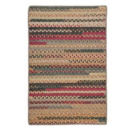 Olivera Cranberry Blend 4 Ft Square Rug