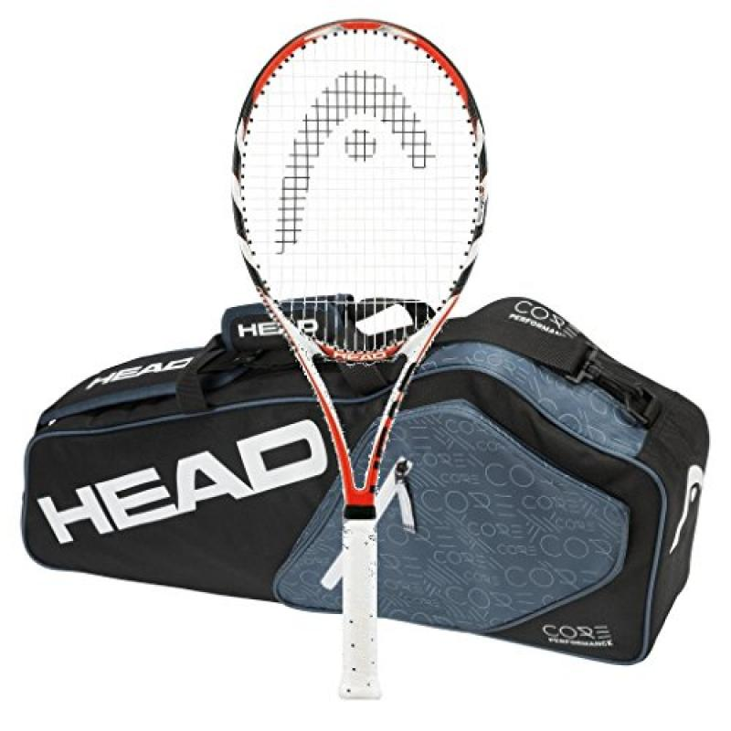 Head Microgel Radical MidPlus MP - STRUNG - 3 Racquet Bag...