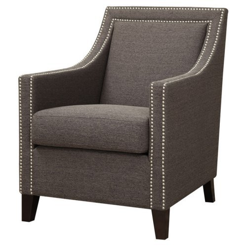 Emerald Home Janelle Accent Chair with Nailhead Trim