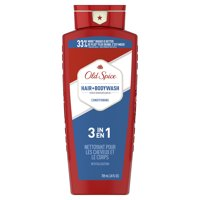 Old Spice High Endurance Conditioning Hair + Body Wash for Men, 24 fl oz