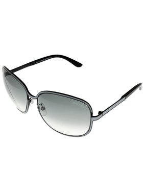 9d40e250c5c6 Product Image Tom Ford Sunglasses Womens FT 0117 01B Pearl Silver Grey  Square Size: Lens/ Bridge