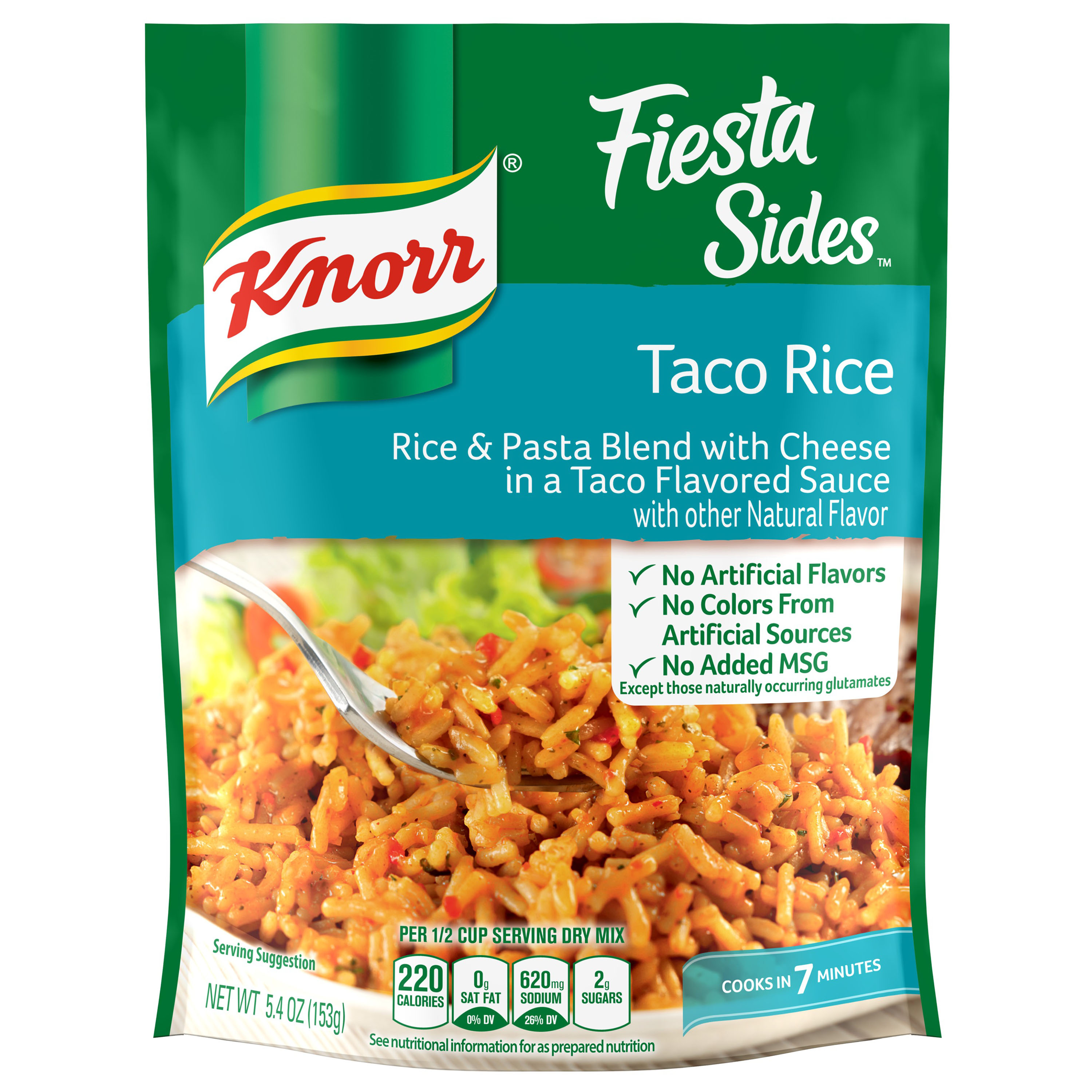 Knorr Fiesta Taco Rice Side Dish, 5.4 oz