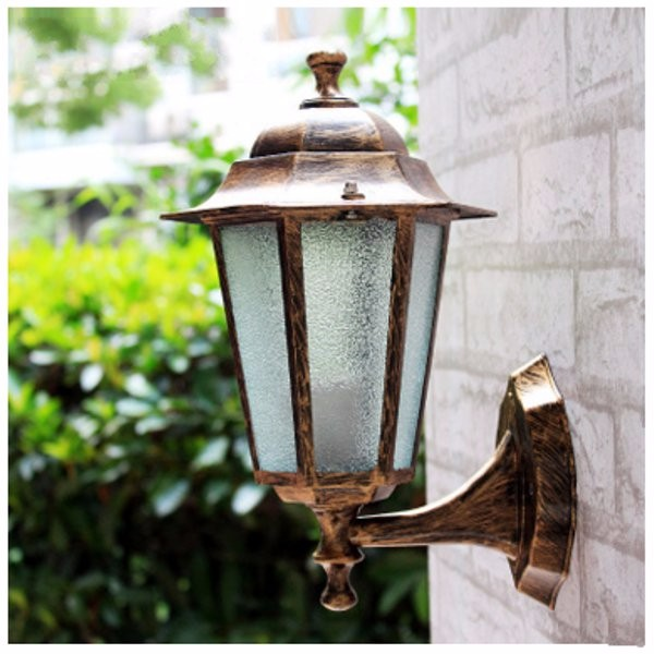 Outdoor /Indoor Vintage Industrial Wall Sconce Wall Home Decor Lamp Barn Cafe Garden Light