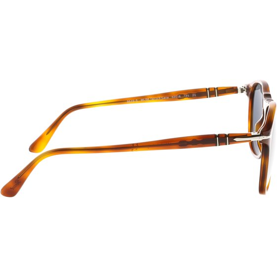 1eedf82ee4 Persol - Persol Men s PO9649S-96 56-52 Brown Oval Sunglasses ...