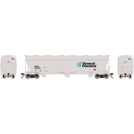 3 Bay Acf Hopper - Athearn HO ACF 4600 3-Bay Centerflow Hopper GRPX #944831, ATHG15461