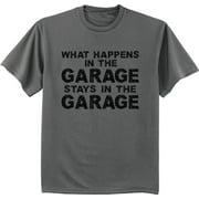 Garage Biker Mechanic Gifts Funny T-shirt Men's Graphic Tee