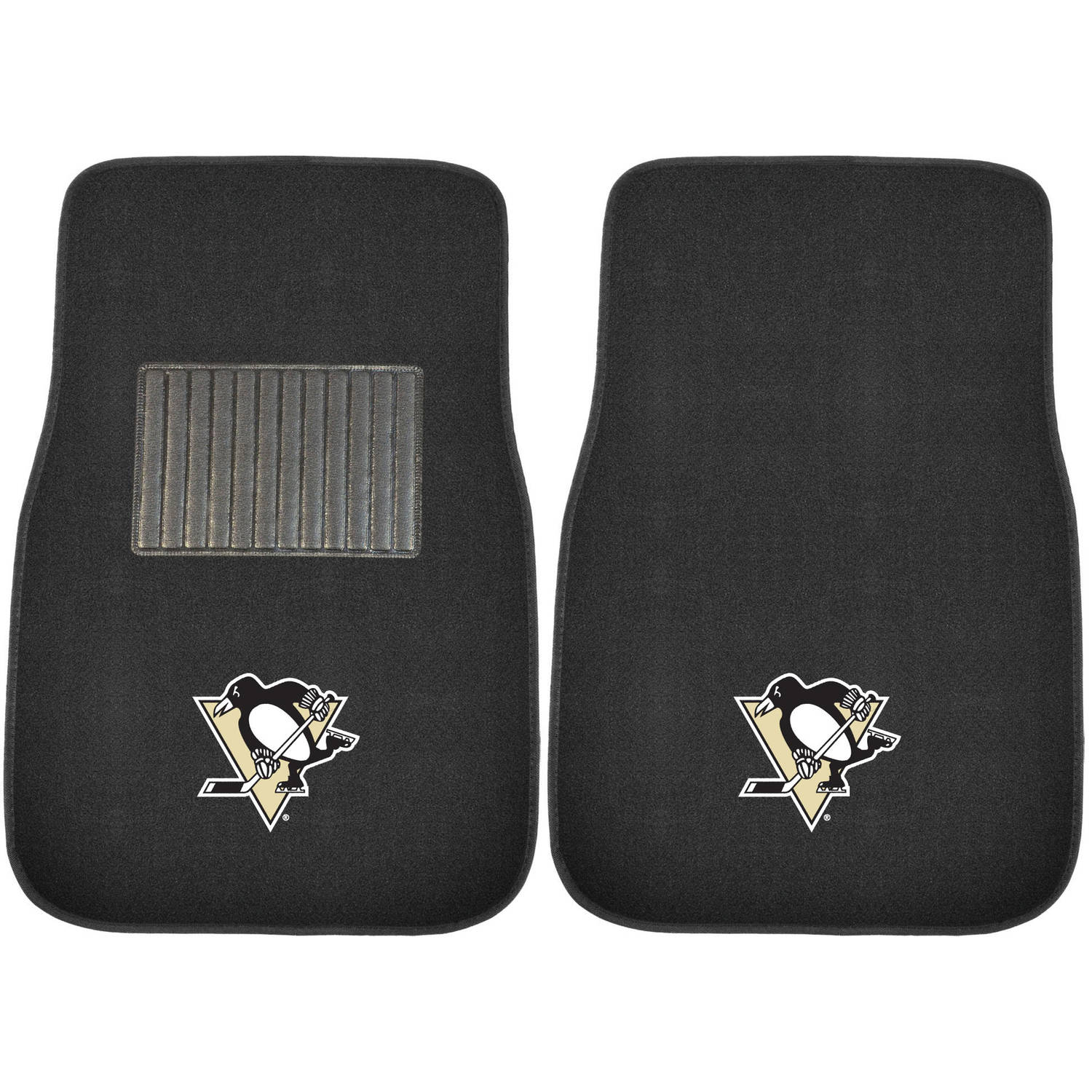 NHL Pittsburgh Penguins Embroidered Car Mats