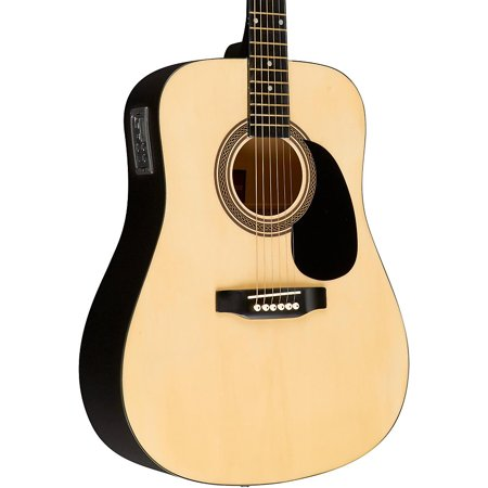 Body Electric Guitar Natural Flat (Rogue RA-090 Dreadnought Acoustic-Electric Guitar )