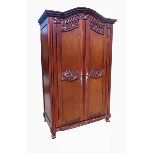 D-Art Collection Old English Armoire by Overstock