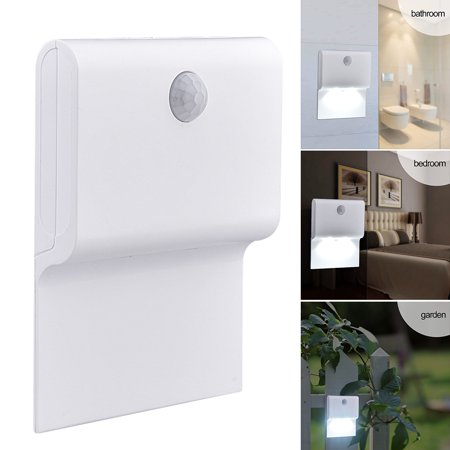 Battery Wall (Body Induction Lamp Battery Operated Motion Sensing Wall Light)