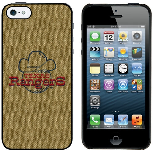 Texas Rangers Cooperstown Logo iPhone 5 Case - No Size