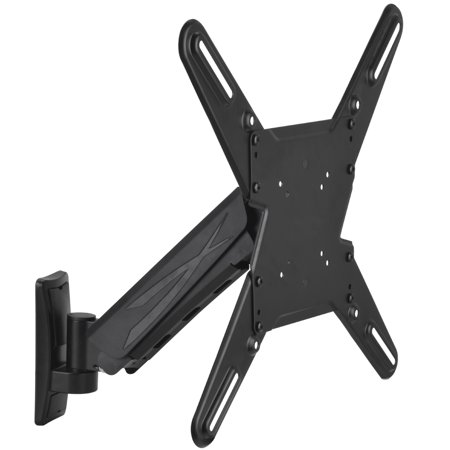 "- Barkan 29""- 56"" Vertical Full Motion - 3 Movements, Flat / Curved TV Wall Mount, Single Arm, Black, Up to 44 lbs, 5-Years Warranty."