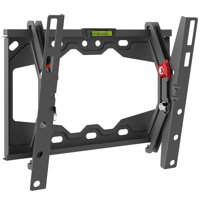 Barkan 13- 39 Tilt Flat / Curved TV Wall Mount, Auto-Locking Patented, Black, Up to 88 lbs, Lifetime Warranty.