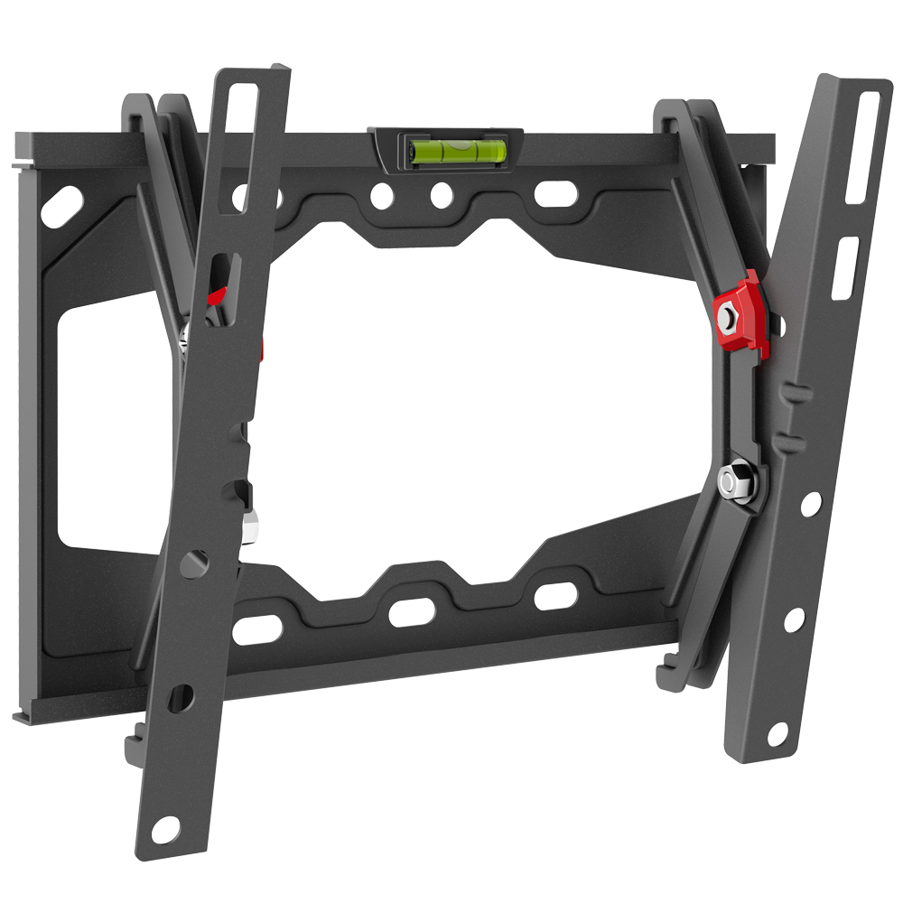 """Barkan E210+ Tilt Flat / Curved TV Wall Mount for 13"""" - 39"""" Screens, up to 88 lbs."""