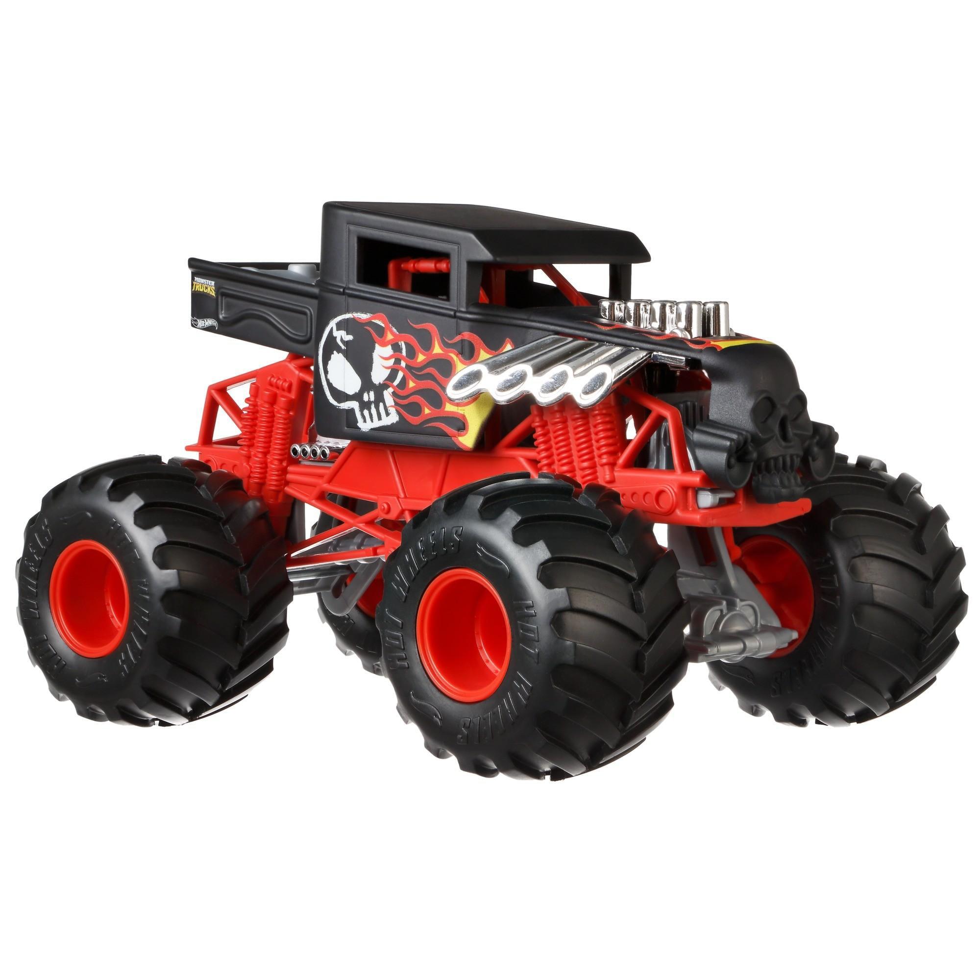 Hot Wheels Monster Trucks 1:24 Scale Bone Shaker by Mattel