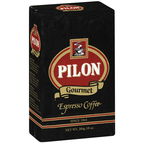 Cafe Pilon Espresso Ground Coffee, 10 oz