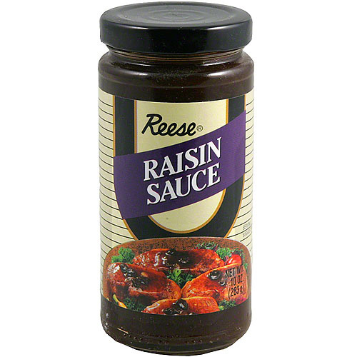 Reese Raisin Sauce, 10 oz (Pack of 6)