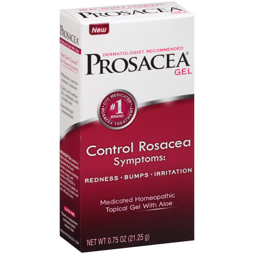 Prosacea Rosacea Treatment Medicated Homeopathic Topical Gel with Aloe, .75 oz