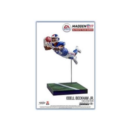Mcfarlane Nfl Ea Sports Madden 17 Ultimate Team Odell Beckham Jr  Action Figure