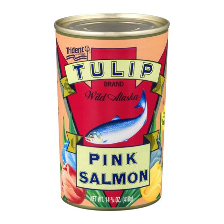 (2 Pack) Tulip Canned Pink Salmon, 14.75 (Tulip Salmon)