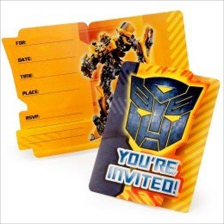 Transformers Invitations w/ Env. (8ct)