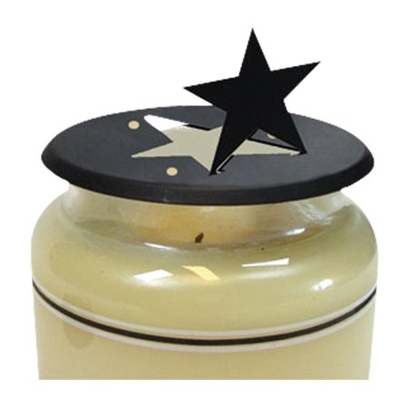 Village Wrought Iron C-LD-45 Star - Candle Jar Topper