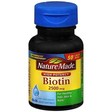 Nature Made Biotin Walmart