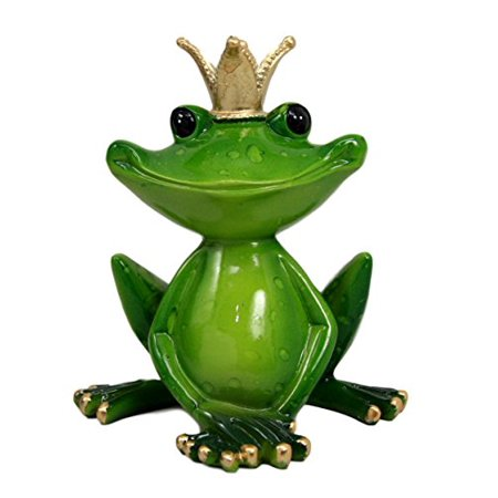 Atlantic Collectibles Kiss A Frog Prince Decorative Figurine 4.5