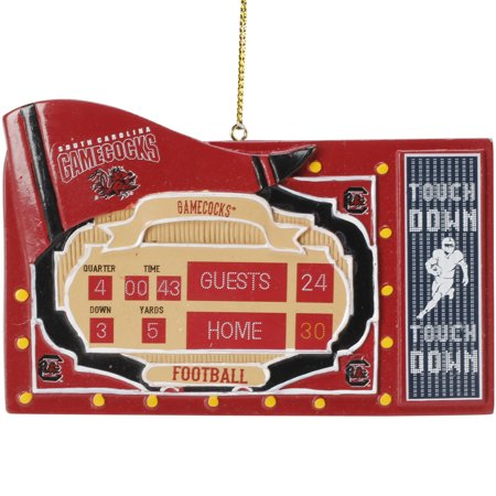 South Carolina Gamecocks Scoreboard Ornament - No Size