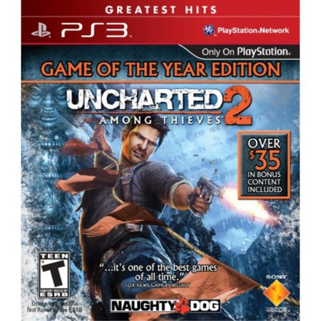 uncharted 2: among thieves - game of the year edition - playstation 3 (Uncharted 2 Among Thieves)