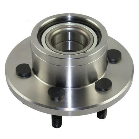 Front Wheel Hub Bearing Assembly Replacement for Dodge Dakota Durango w/ Rear-Wheel drive & Rear Wheel ABS