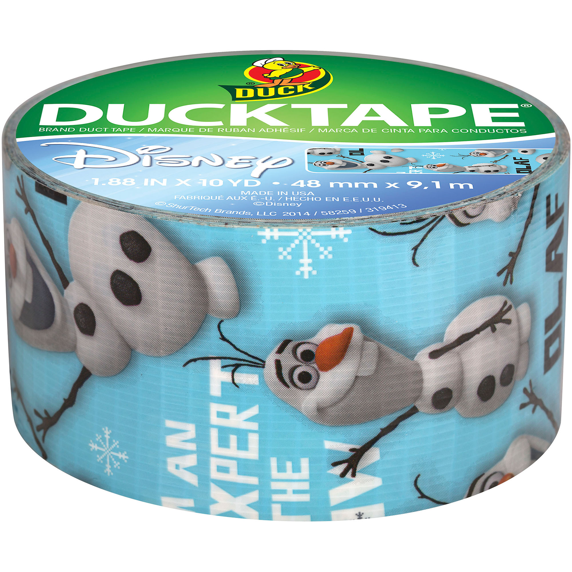 Duck Brand Disney Frozen Duct Tape, Olaf