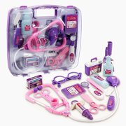 Kids Children Pretending Doctor's Medical Playing Set Case Education Kit Boys Girls Toy Gift