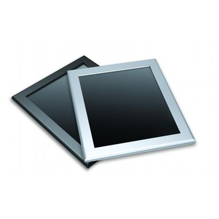 Testrite Visual Products ME7-B Easy-Open SnapFrames 22 in. X 28 in. Easy Open Snap Frame-Black