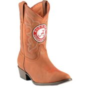 Gameday Boots Boys College Team Crimson Tide Alabama Honey AL-B035-1