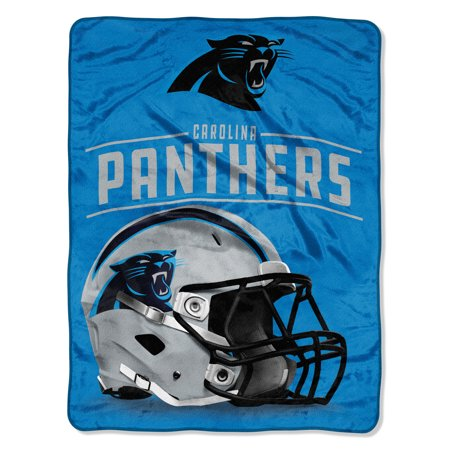 "Carolina Panthers Gifts (NFL Carolina Panthers ""Franchise"" Micro Raschel Throw, 46"" X)"