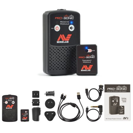 Minelab PRO SONIC wireless Metal Detector Audio