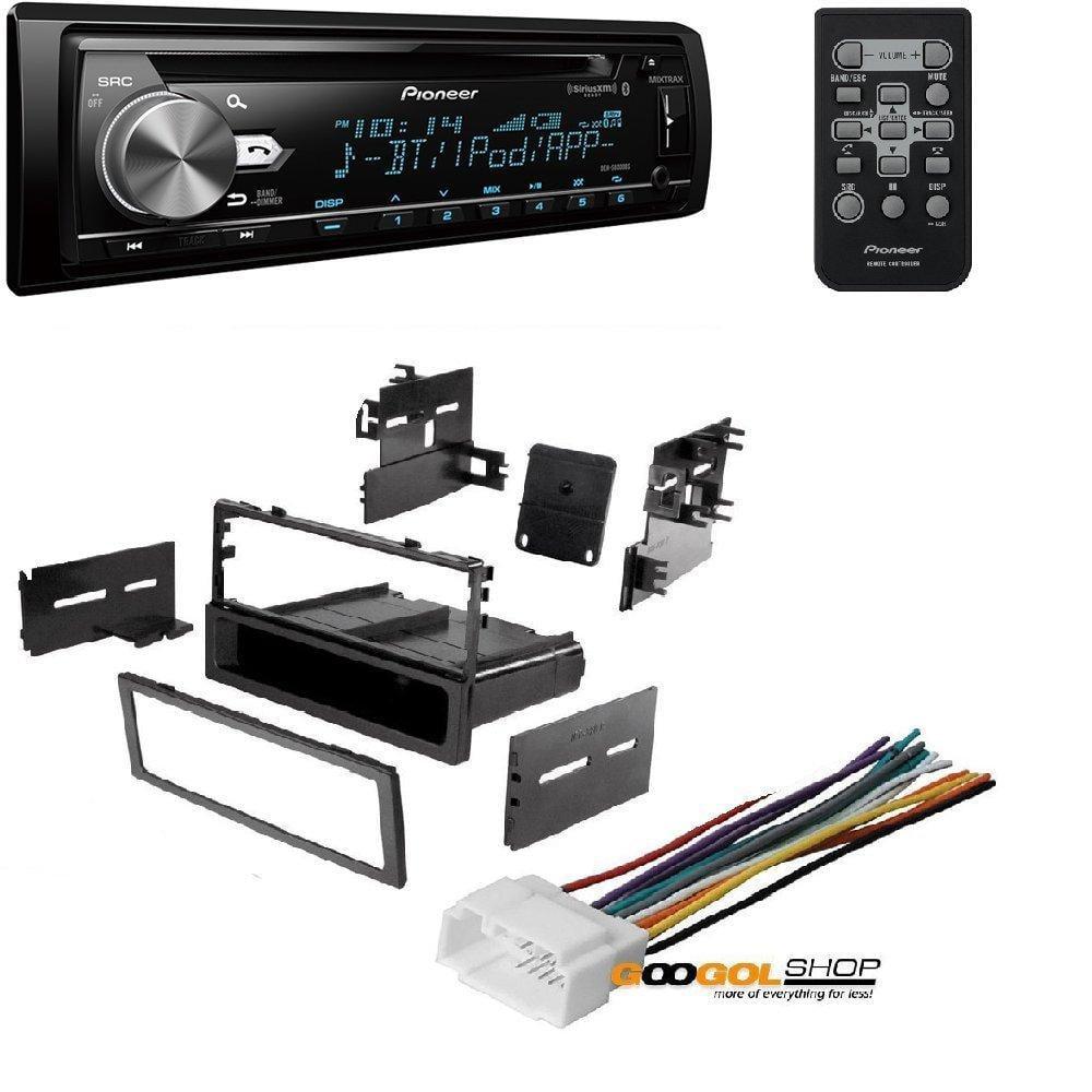 DEH-S6000BS Pioneer SiriusXM Ready Bluetooth In-Dash CD//AM//FM Car Stereo