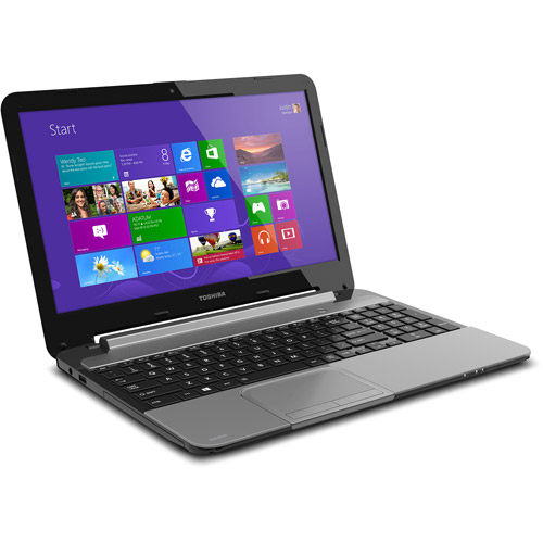 "Refurbished Toshiba L955-S5330 15.6"" Laptop Intel i5-3317U 6GB Memory 640GB Drive Win 8.1"