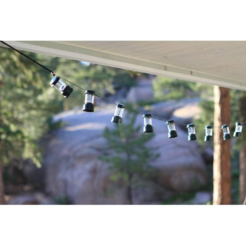 Coleman LED Camp Lantern String Lights Walmart