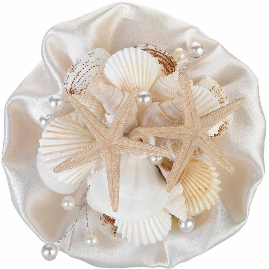 Lillian Rose Coastal Sea Shell Wedding Bouquet