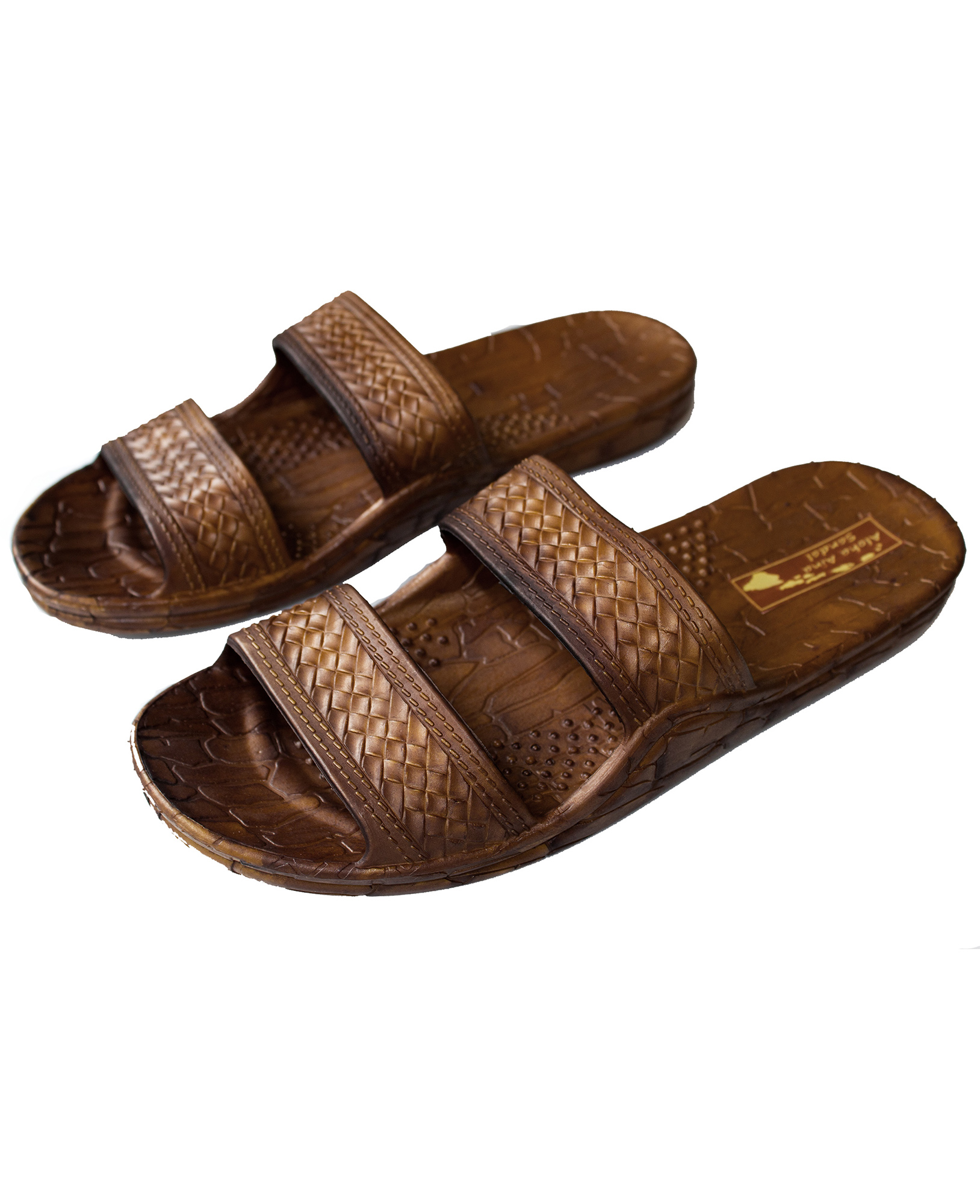 e1943458e Aloha Aina Sandal - Hawaii Brown and Black Jesus Sandals for Kids ...