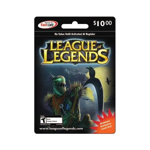 League of Legends Riot Points, $10 - Walmart.com