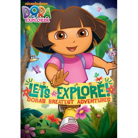 Dora the Explorer: Let's Explore! Dora's Greatest (DVD) Dora The Explorer Video